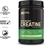 Optimum Nutrition Micronized Creatine Monohydrate Powder, Unflavored, Keto Friendly, 228 Servings