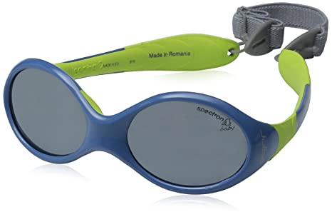 62fc78122b Julbo Looping 2 Junior Sunglasses - Spectron 4 Baby - Blue Lime Green