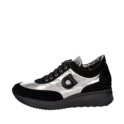 NoirArgent Agile Femme 1304 Sneakers Petite 36 6 Rucoline By Cr0xwRCU