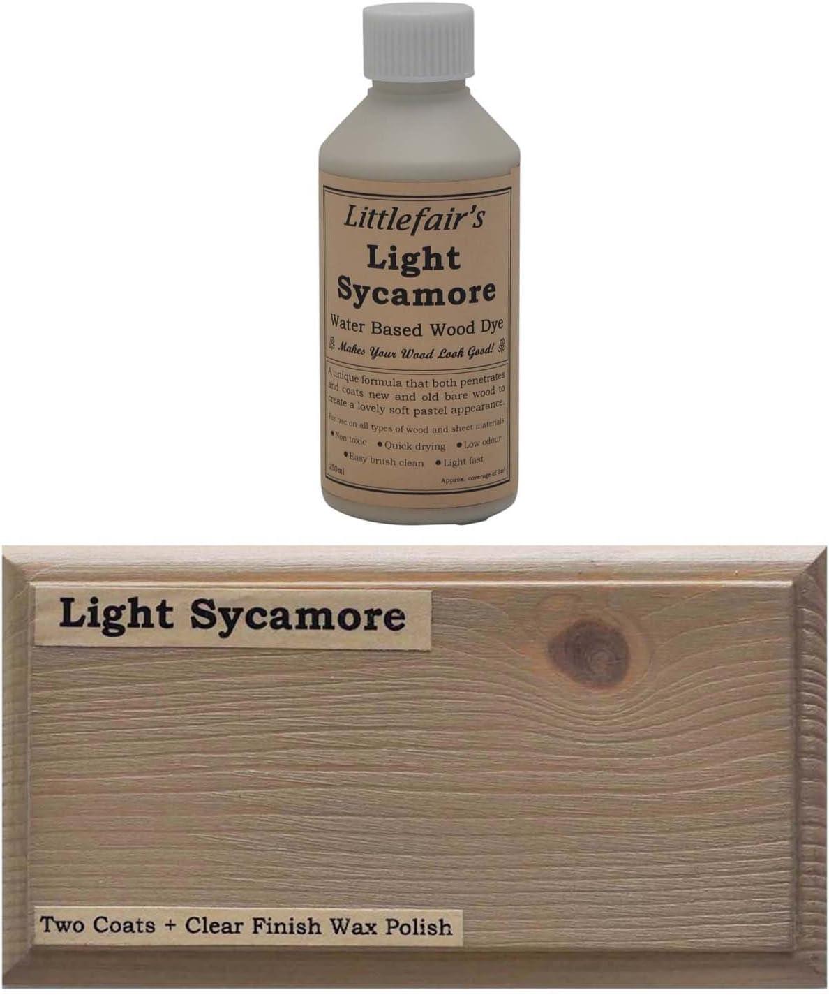 Littlefairs - Tinte para madera con base acuosa, gama pastel