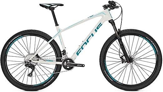 Focus MTB Raven Elite Donna 22G - Bicicleta de montaña (27,5 Pulgadas), Color Blanco y Azul, Color Blanco, Azul, tamaño 42, tamaño de Rueda 27.50: Amazon.es: Deportes y aire libre