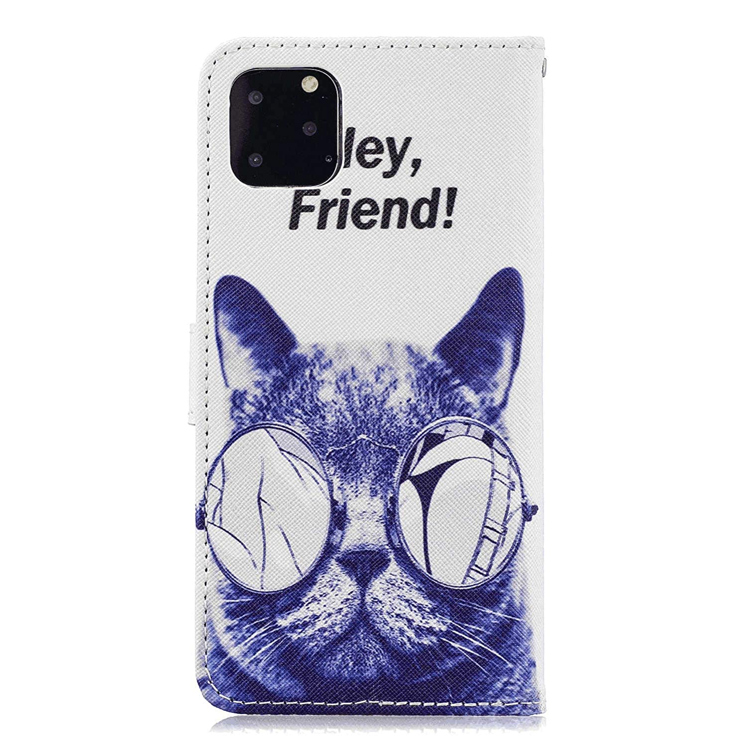 Samsung Galaxy A60 Flip Case Cover for Samsung Galaxy A60 Leather Extra-Protective Business Cell Phone Cover Kickstand Card Holders Flip Cover