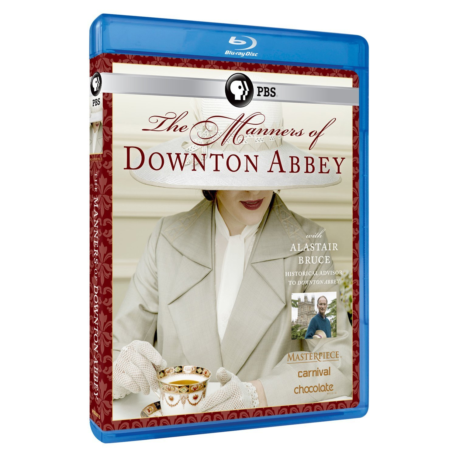 Blu-ray : The Manners Of Downton Abbey (masterpiece Classic) (Blu-ray)