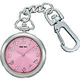 [シチズン キューアンドキュー]CITIZEN Q&Q 懐中時計 FREE WAY(フリーウェイ) ポケットウォッチコレクション ピンク AA93-0008