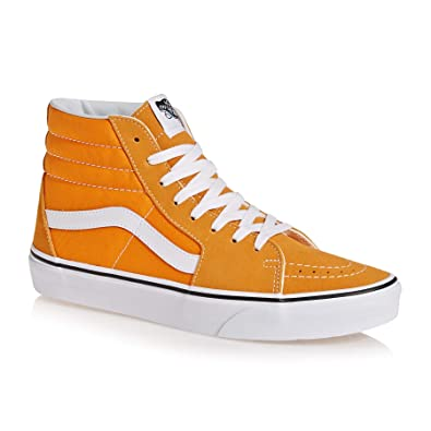 Vans Sk8 Hi Shoes 47 EU Dark Cheddar True White: