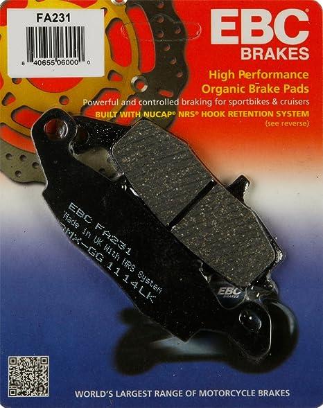 Amazon.com: Kawasaki Front Brake EX 650 Ninja 650 (EX 650 E ...