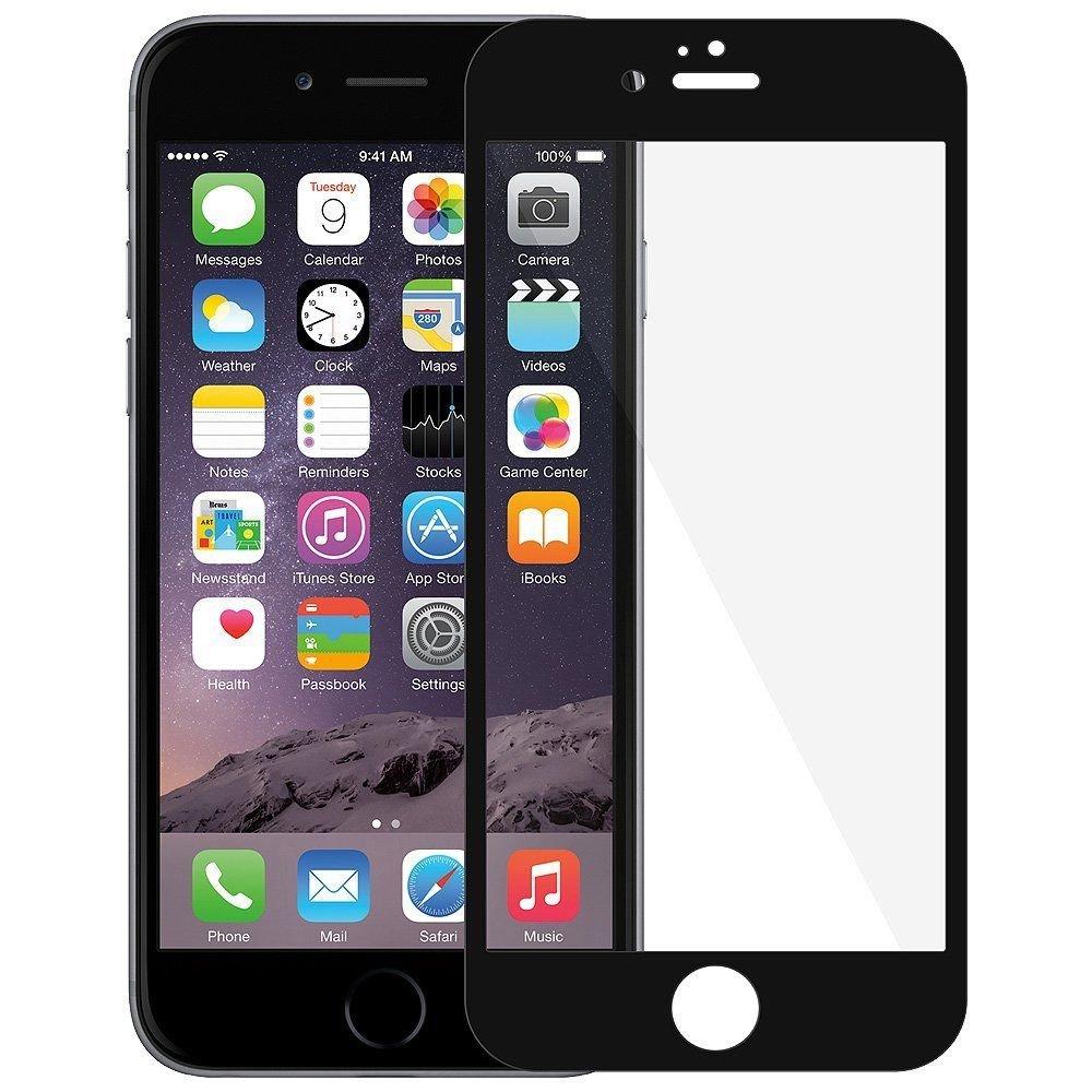 Nillkin 3D AP+ Pro - 9H Flexible Glas und Vollbild-Schutz für iPhone 7 - Schwarz