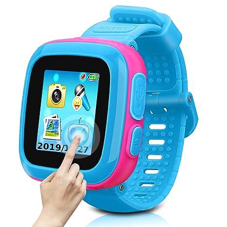 Amazon.com: Reloj para niños reloj inteligente para niños ...
