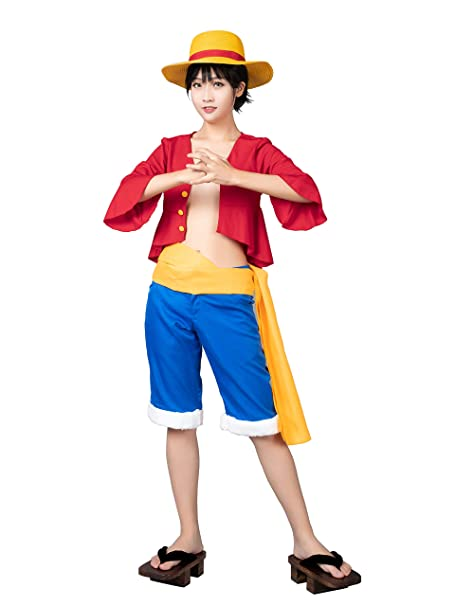 Cosfantasy Japan Anime Monkey D Luffy Cosplay Costume Outfit Mp001154