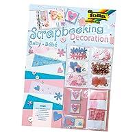 folia 12104 - Scrapbooking Deco Set - Baby, bunt