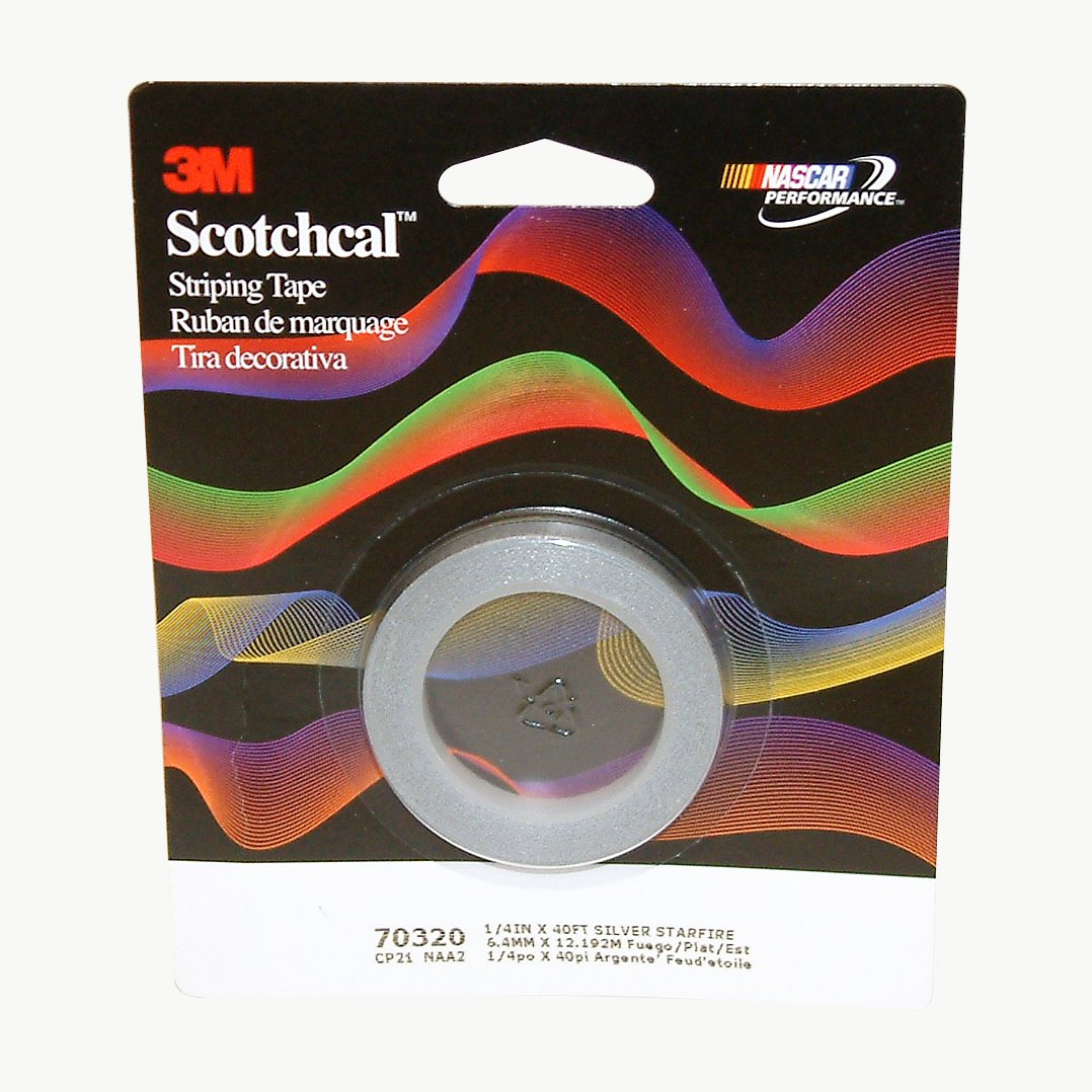 Striping Tape-White 1//4 Single 40 Roll