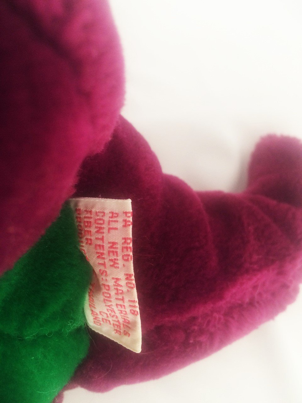 amazon com first edition vintage barney dinosaur backyard gang