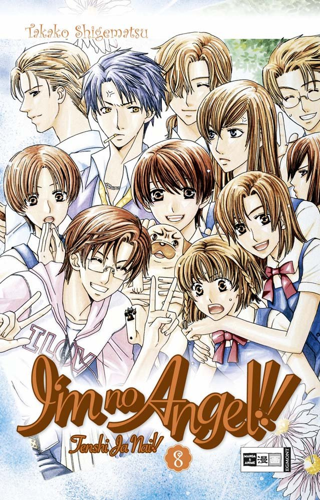 I m no Angel 08: Tenshi Ja Nai!! Vol. 8 pdf