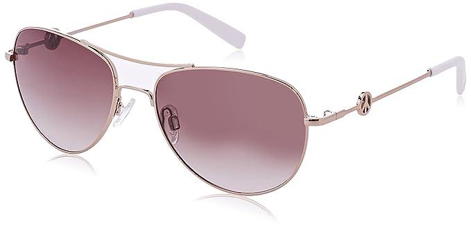 Moschino Damen Sonnenbrille Eye, Grau (Grigio), 56