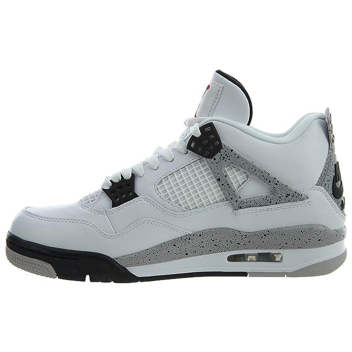 super popular 6675f f5b02 Amazon.com   NIKE air Jordan 4 Retro OG Mens hi top Basketball Trainers  840606 Sneakers Shoes   Basketball