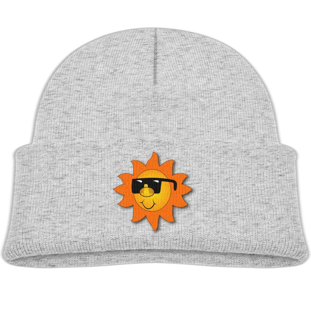 Smile Glasses Sun Wool Skull Cap Trendy Boys' Winter