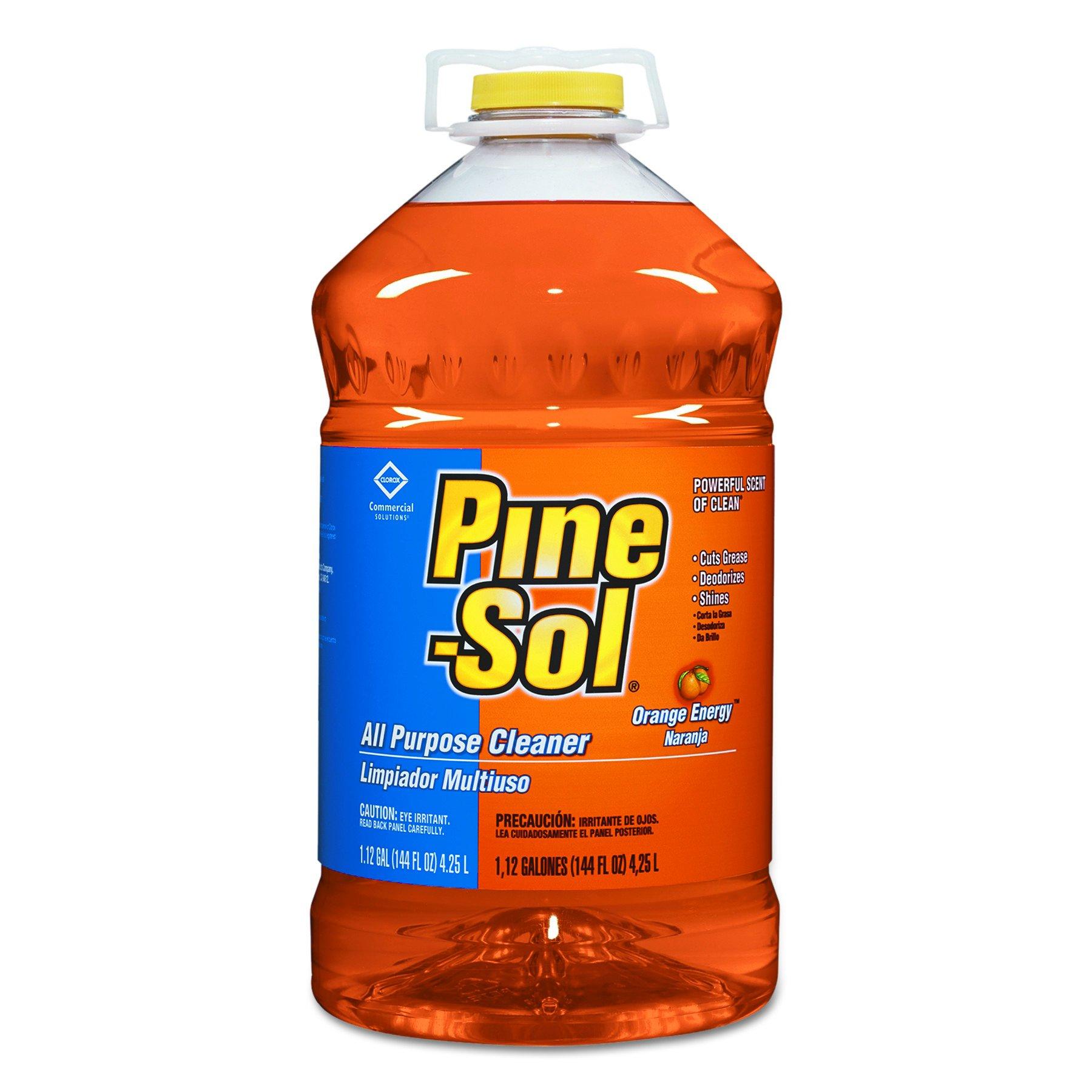 Pine-Sol 41772CT All-Purpose Cleaner, Orange, 144oz Bottle (Case of 3)