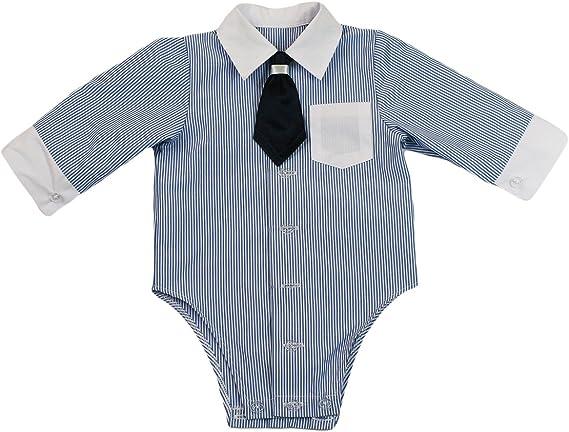Camisa jóvenes de bebé Infantil Niño Bautizo Body camisa ...