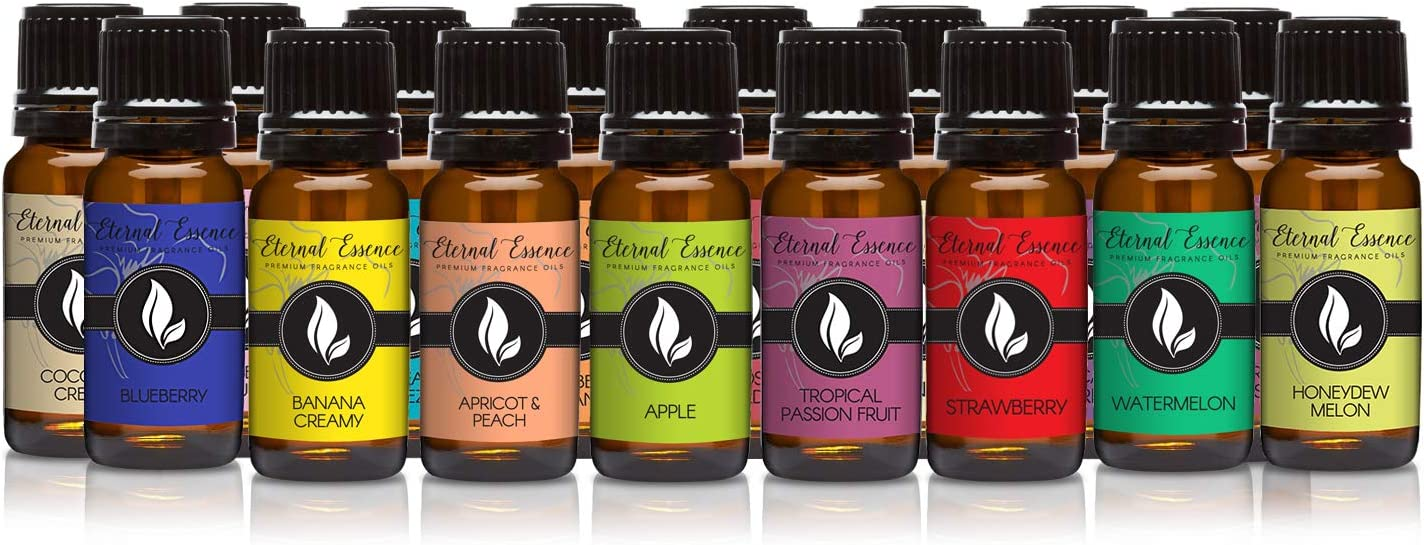 Fruity - Set of 16 Premium Fragrance Oils - Eternal Essence Oils