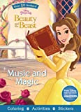 Music and Magic: Over 50 Stickers! (Disney Princess: Beauty and the Beast)