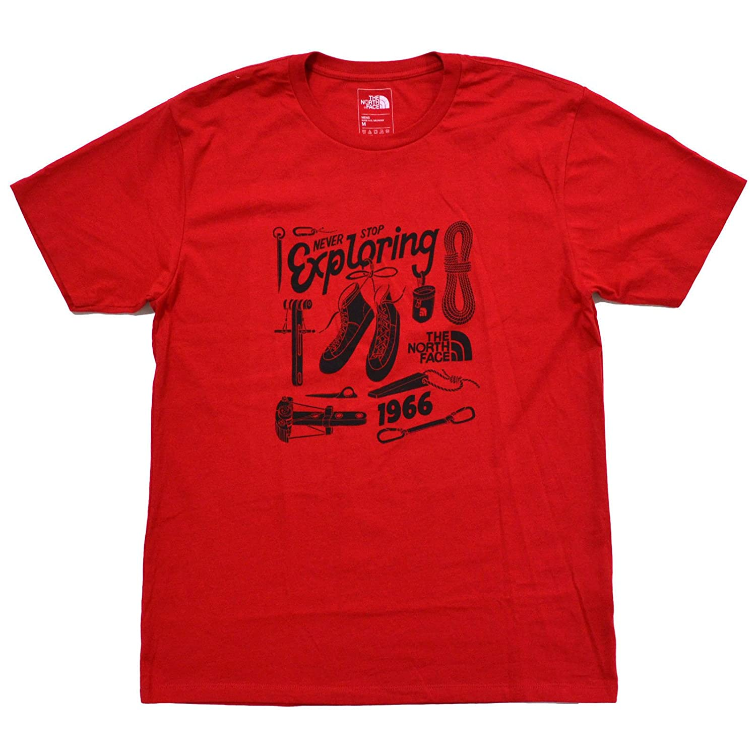 846610a99 Amazon.com: The North Face Mens Never Stop Exploring Graphic T-Shirt ...