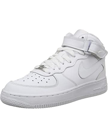 best cheap 1b52a 27432 Nike Air Force 1 Mid (GS), Zapatillas de Baloncesto para Niños