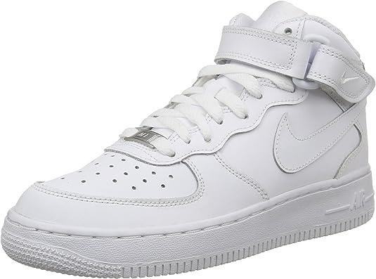 Nike Air Force 1 Mid (GS), Zapatillas de Baloncesto para Niños ...