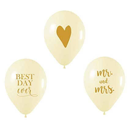 wedding day balloons best day ever balloon mr and mrs balloon