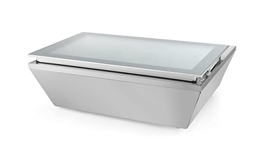 Hendi 233689 Aufsatz Congelador vitrina, acero inoxidable: Amazon ...