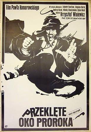 ORIGINAL 1984 POLISH POSTER - PRZEKLETE OKO PROROKA - COOL ...