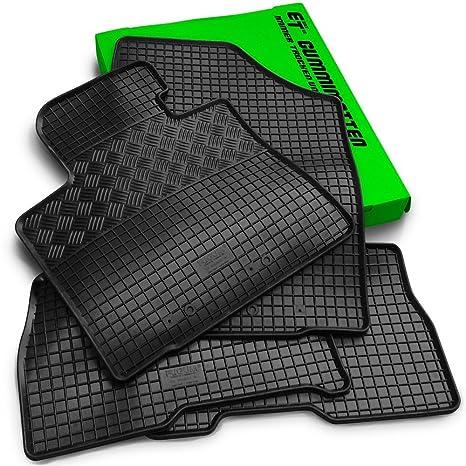 Clips Gummimatten 4-tlg für SKODA CITIGO SEAT MII VW UP ab 2011