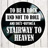 Stairway to Heaven song lyric art inspired by Led