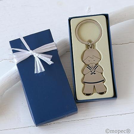 Mopec Llavero de Metal de Primera Comunión niño Vestido de Marinero en Caja de Regalo, Pack de 1 Unidad, 5.00x10.50x2.50 cm: Amazon.es: Hogar