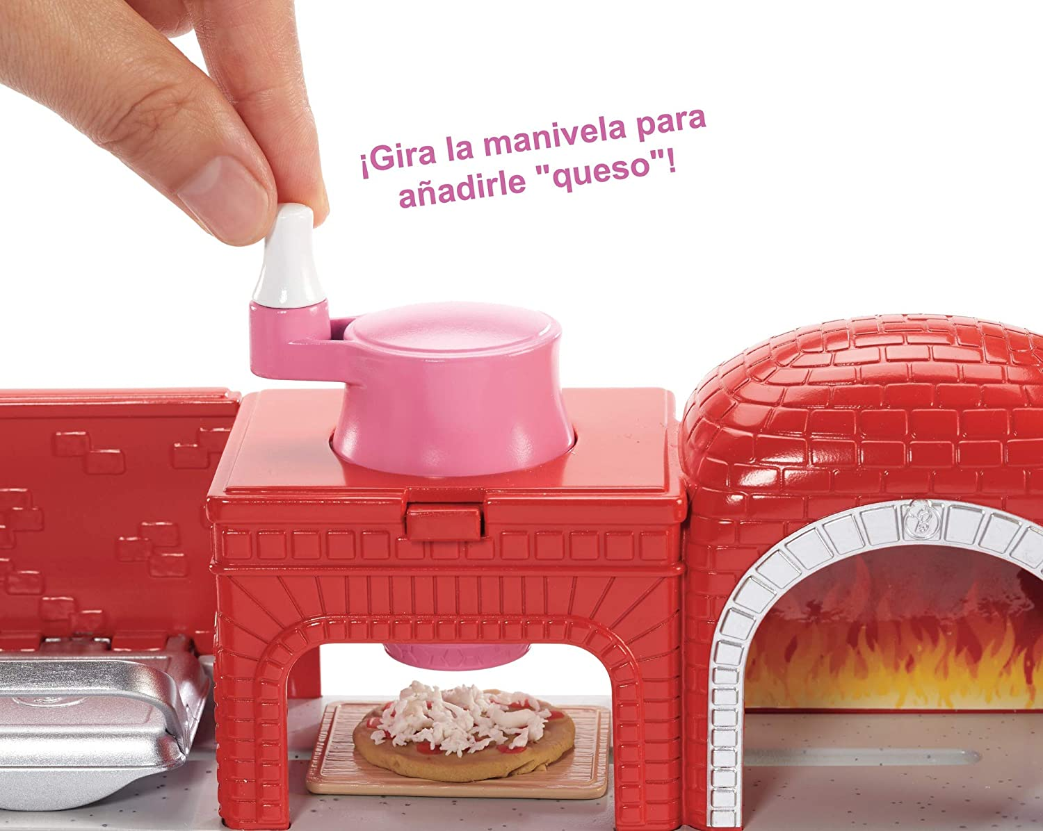 Amazon.es: Barbie Quiero Ser pizza chef, muñeca y accesorios de ...