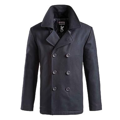 200f0228 Amazon.com: Surplus Pea Coat Navy: Clothing
