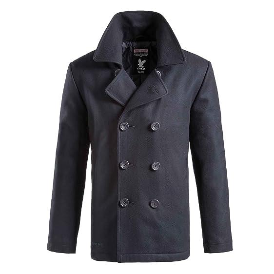 Amazon.com: Surplus Pea Coat Navy: Clothing