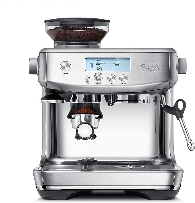 SAGE SES878BTR the Barista Pro, Cafetera espresso, Cappuccinatore, 15 Bar, Acero Inoxidable: Amazon.es: Hogar