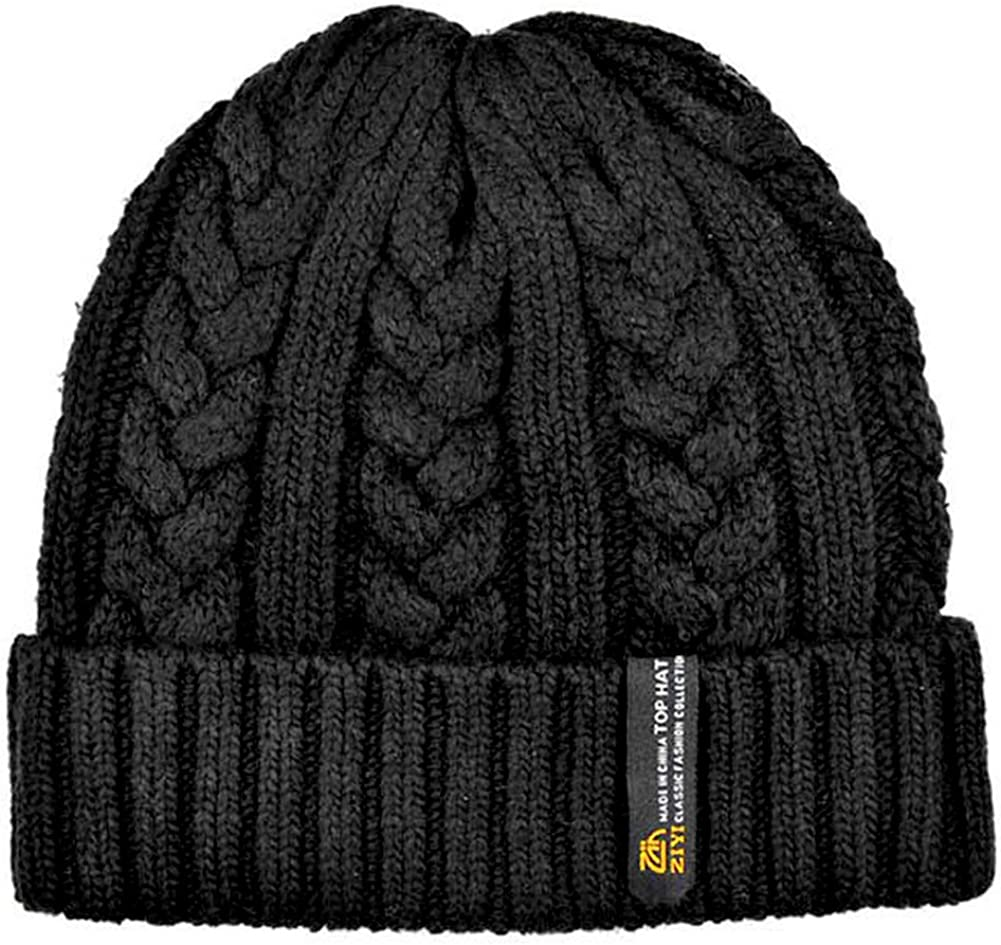 MENS KNITTED  BEANIE WINTER HAT