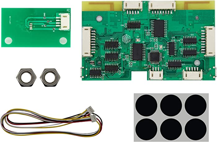 IntecGaming Wireless Bluetooth PCB Board for Capcom Home Arcade Console to Nintendo Switch/PC/Steam Wireless Controller