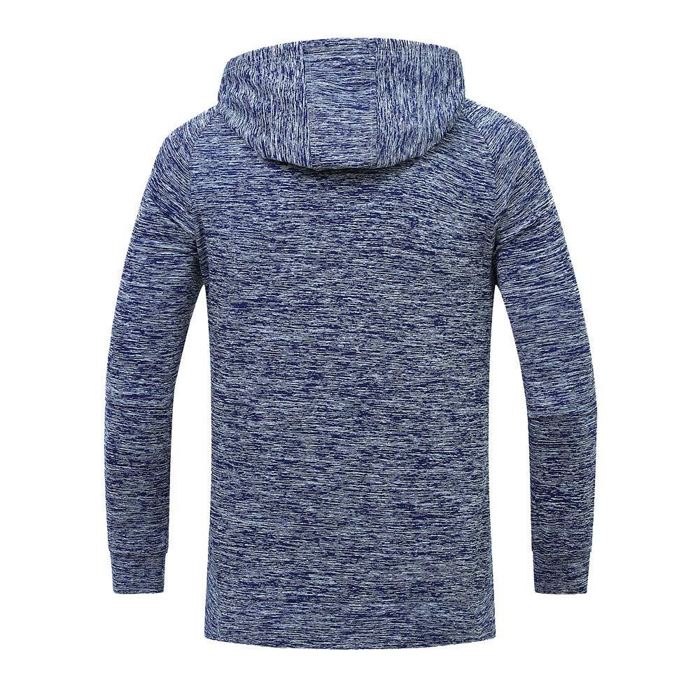 ZIYOU Pullover mit Kapuze Herren, Beiläufige Streetwear
