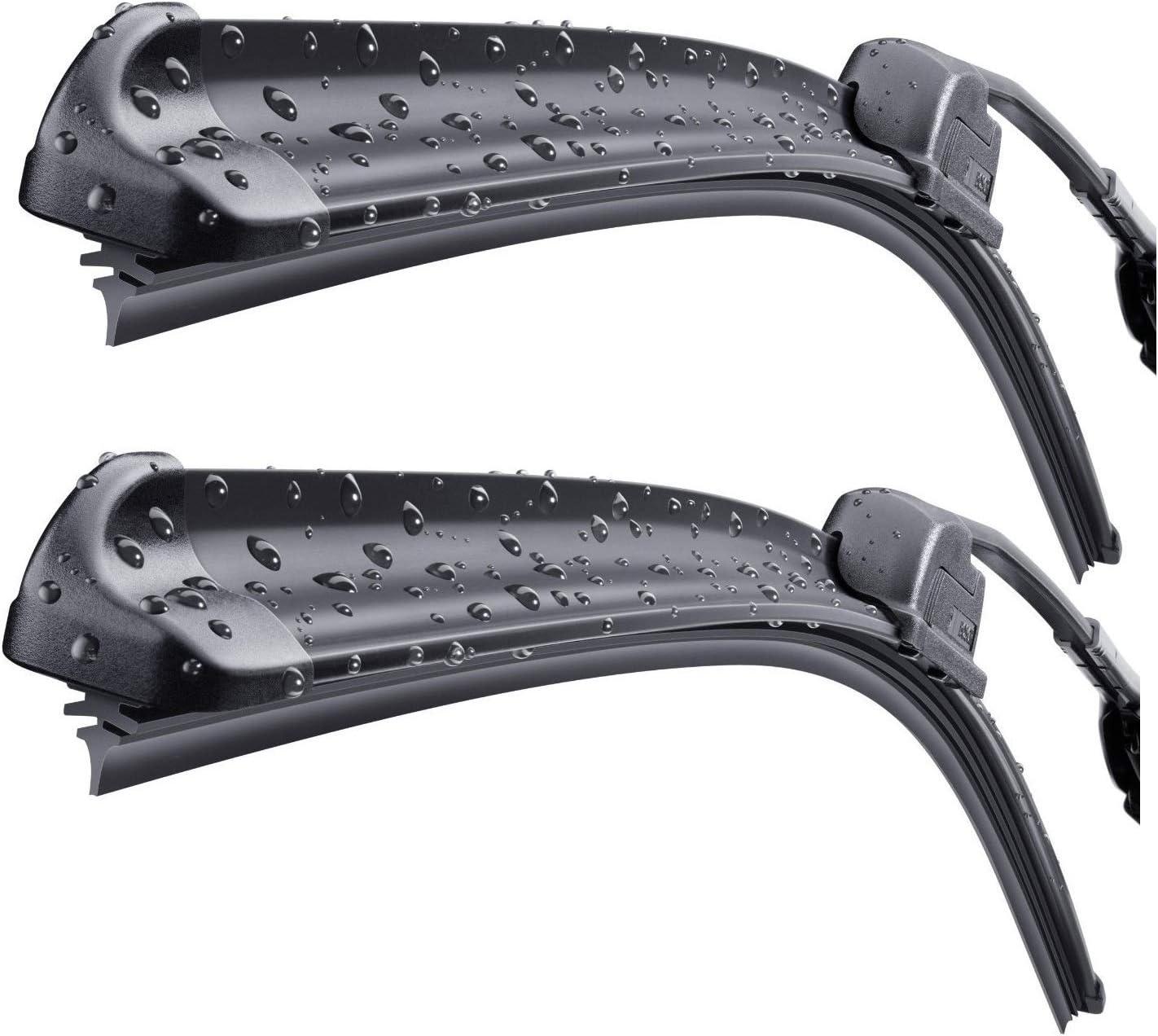 Bosch Aerotwin Retro Front /& Specific Rear Wiper Blades Genuine Windscreen Set