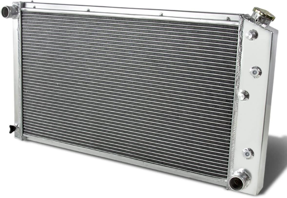DNA Motoring RA-CHEVYT73-3 Aluminum Racing Radiator