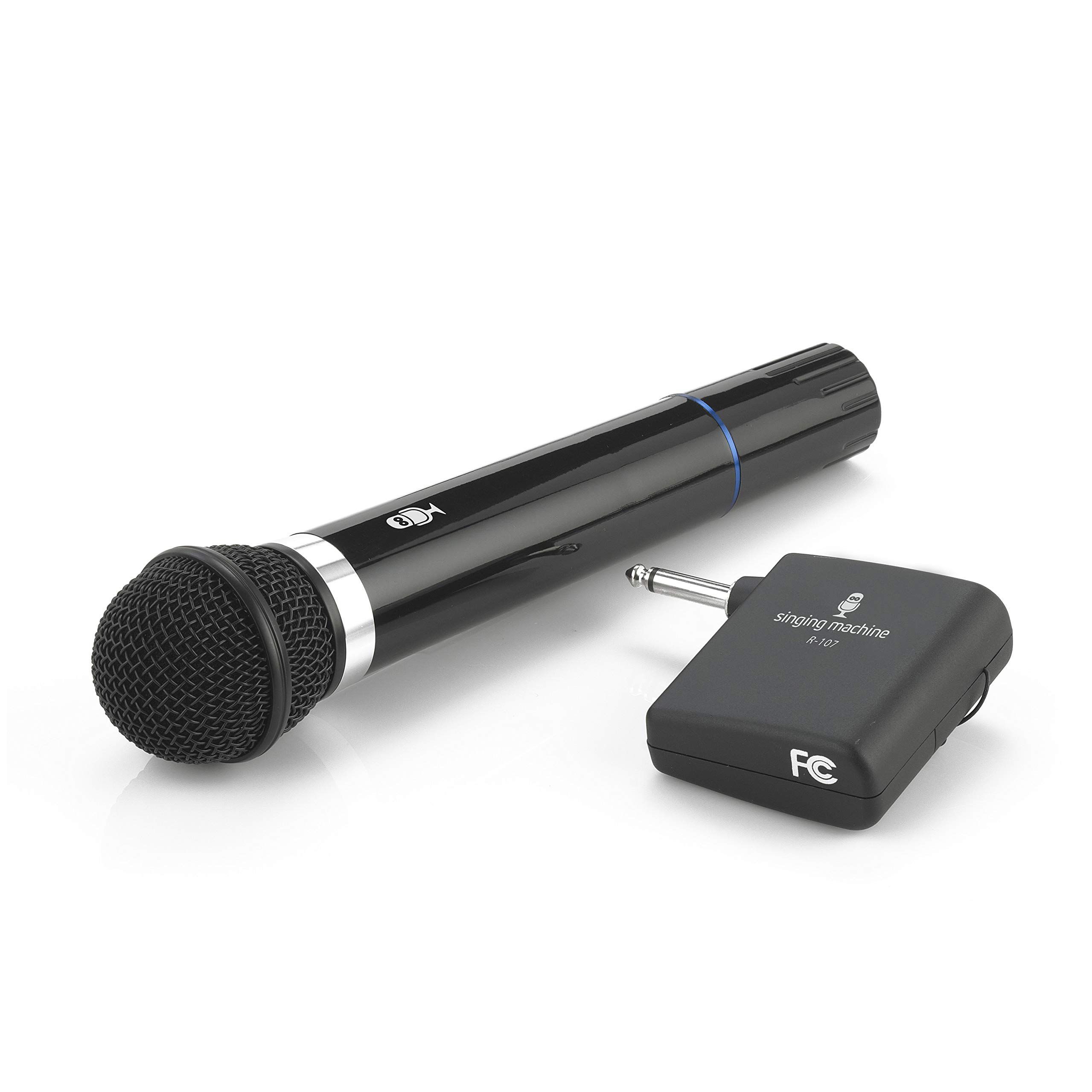 Singing Machine SMM-107 Karaoke Wireless Microphone (Black)