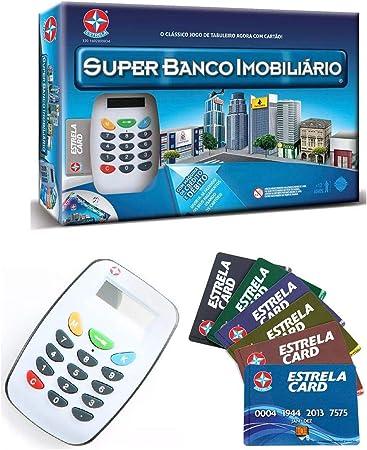 Jogo de Tabuleiro Super Banco Imobiliário - Estrela
