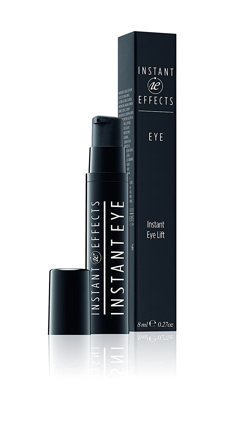 INSTANT EFFECTS INSTANT EYE LIFT 8ml, OX2 Technology, Clinicaly Proven in 15 minutes to give a 21% reduction in wrinkles and fine lines – this increased to 47% after 6 weeks, plus a 55% increase in skin elasticity, it also Diminish dark circles and r