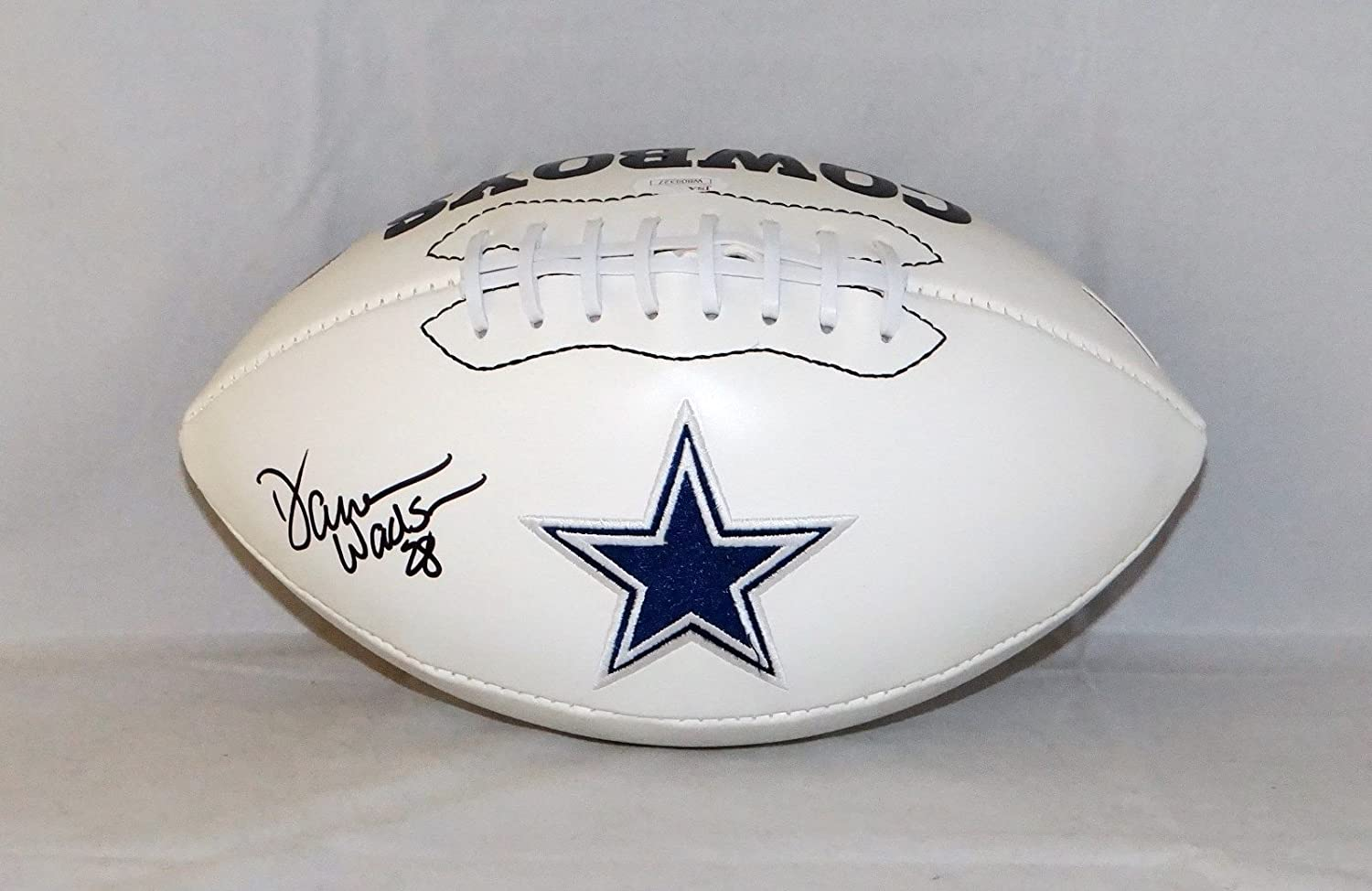 Darren Woodson Autographed Dallas Cowboys Logo Football- JSA W Auth