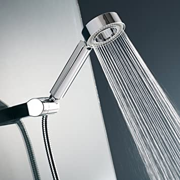 Turbo shower with hand-held shower head water heater rain shower and duplex shower Sided