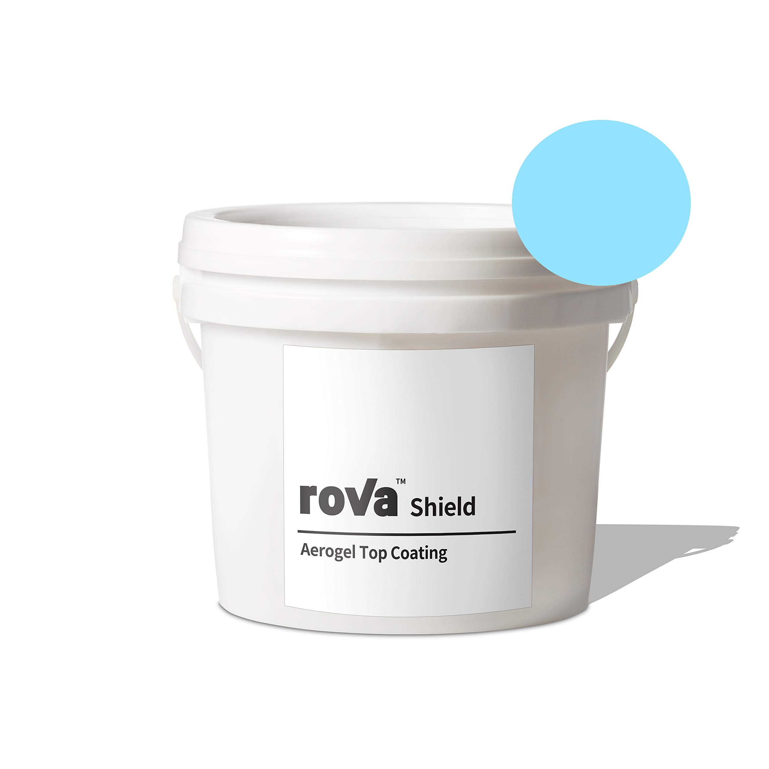 roVa Shield Aerogel Top Coating, Color Skyblue 1 Quart (1 Liter) by roVa (Image #1)