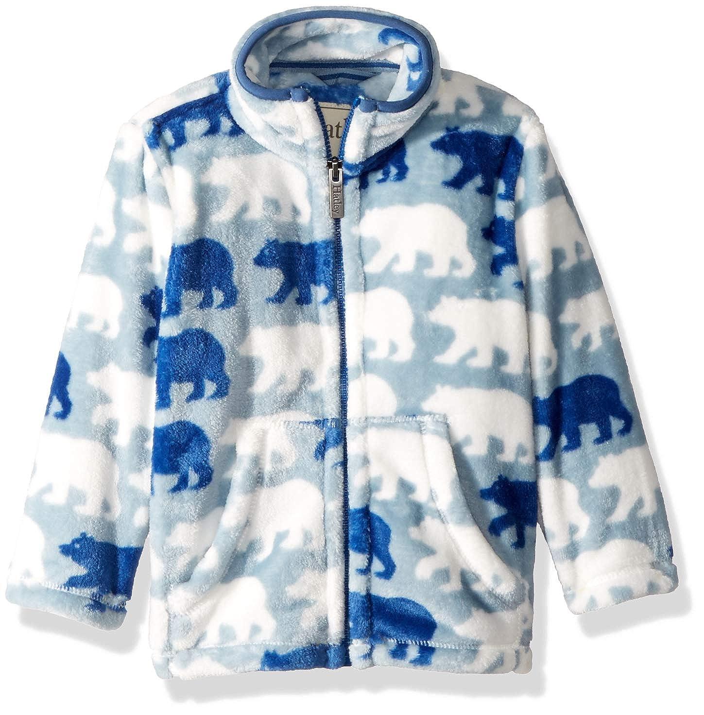 Hatley Boys Fuzzy Fleece Jackets