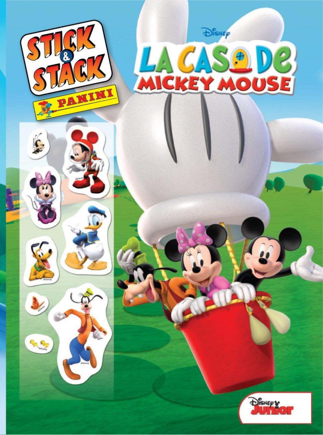 La Casa De Mickey Mouse. Stick & Stack: Amazon.es: V.v.A.a.: Libros